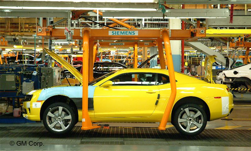 2010 Camaro Production2